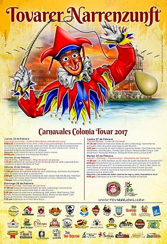 Carnavales 2017 Colonia Tovar